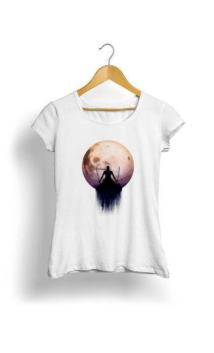 Camiseta Feminina Tropicalli Santoryu Three Swords Style