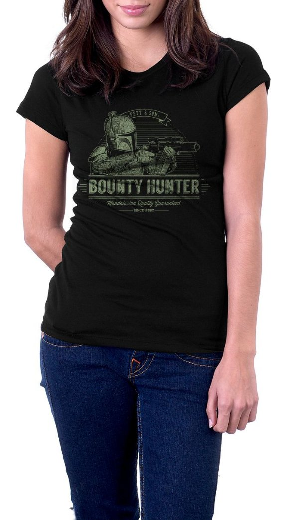 Camiseta Feminina Star Wars Bounty Hunter