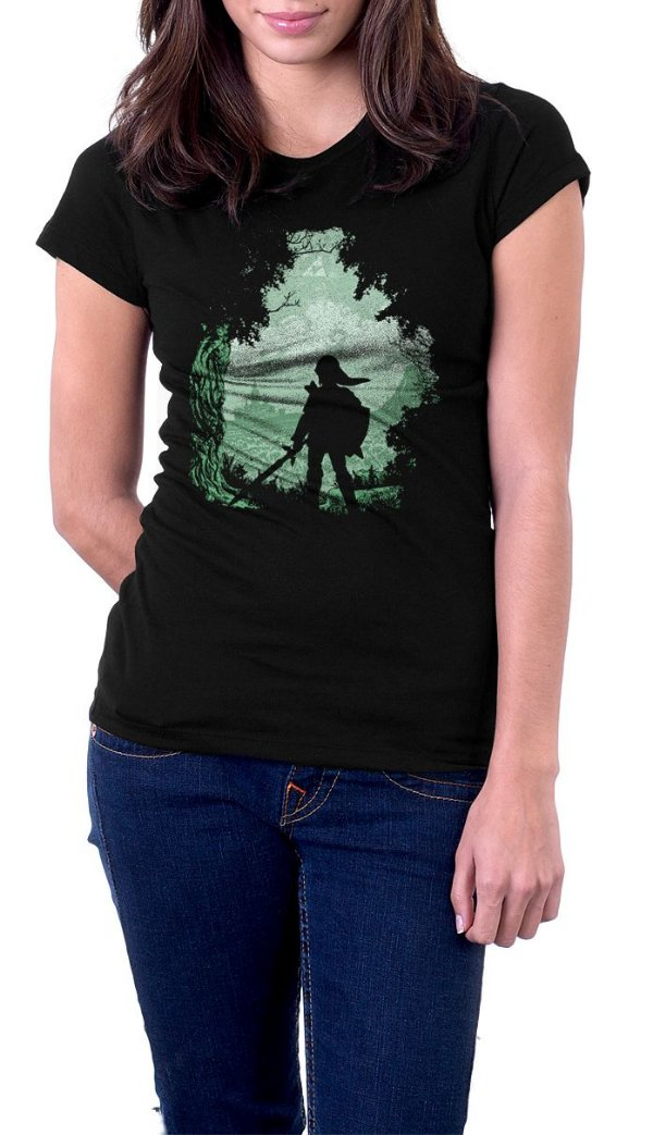 Camiseta Feminina Triforce The Legend Of Zelda