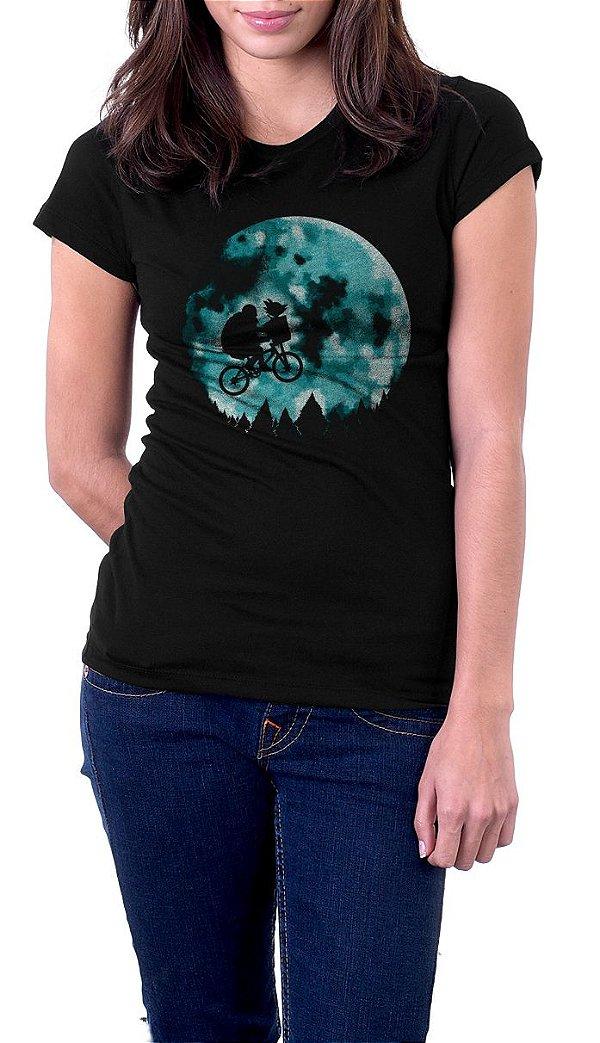 Camiseta Feminina Dragon Ball Movie E.T