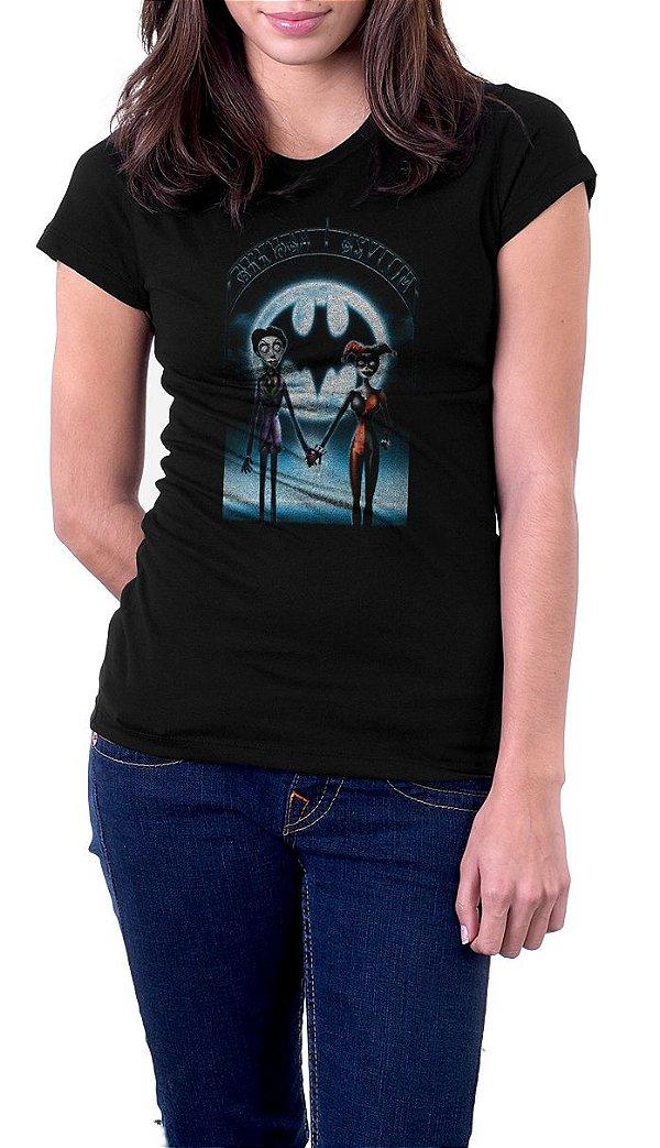 Camiseta Feminina Joker and Arlequina