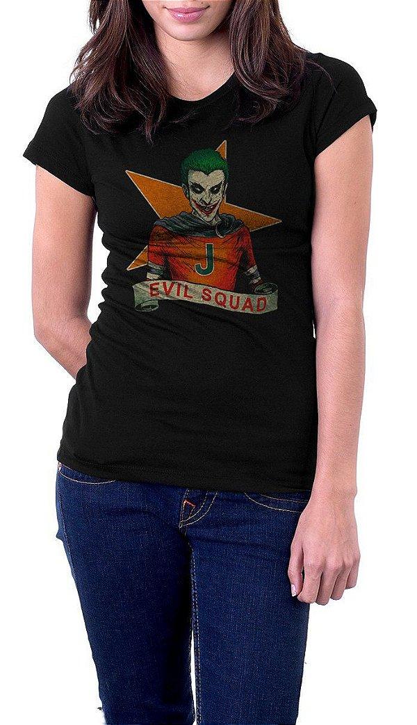 Camiseta Feminina Evil Squad