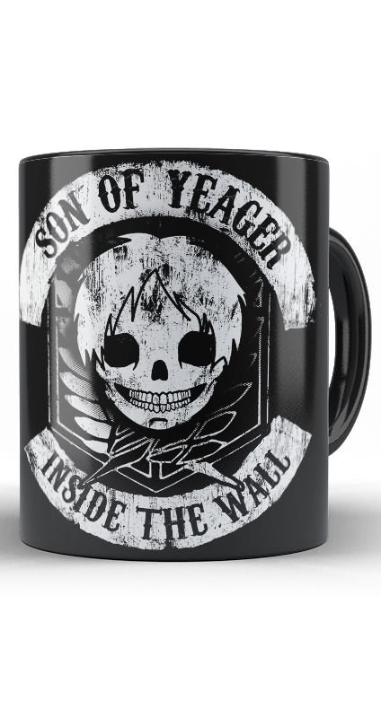 Caneca Son of Yeager Inside the Wall