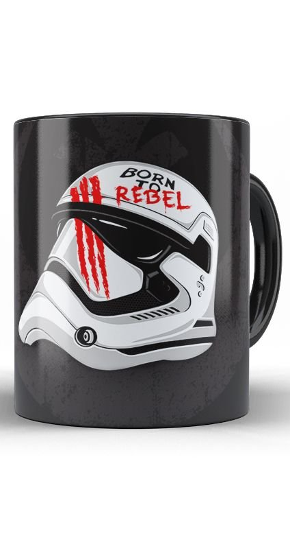 Caneca Star Wars Born to Rebel Face