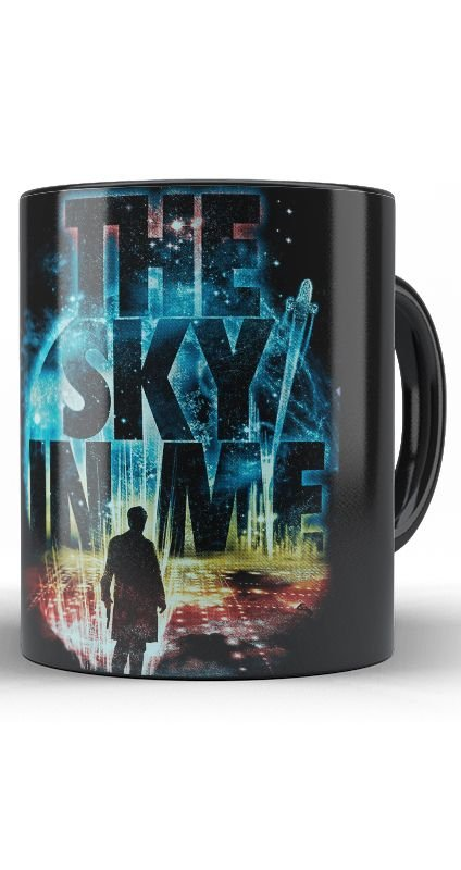 Caneca The Sky In Me Doctor Who - Nerd e Geek - Presentes Criativos