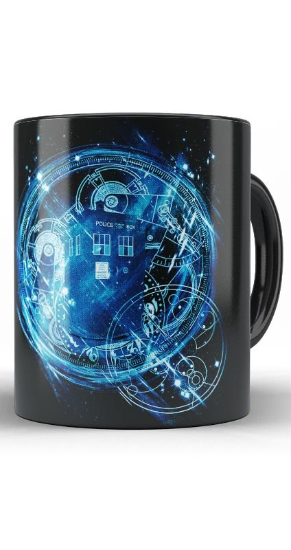 Caneca Doctor Who Police Public Box Call - Nerd e Geek - Presentes Criativos