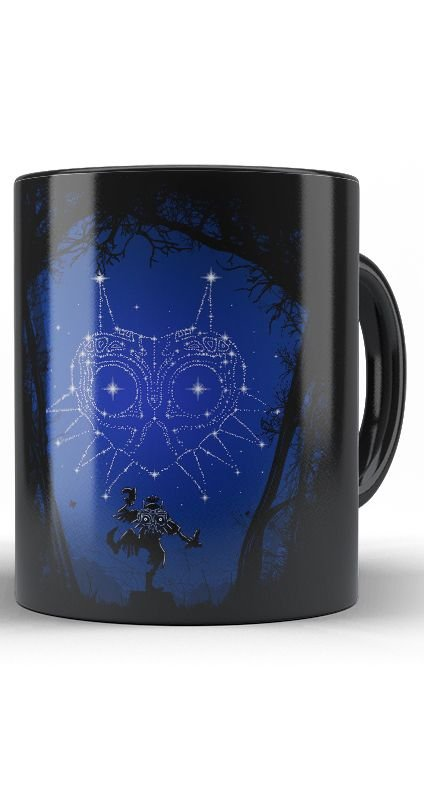 Caneca The Legend of Zelda Majora Dreams - Nerd e Geek - Presentes Criativos