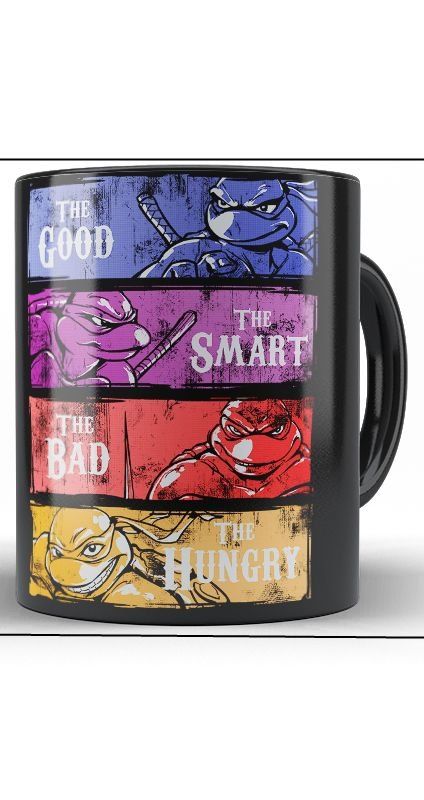 Caneca The Good the Smart the bad