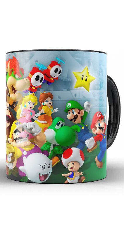 Caneca Mario e sua Turma