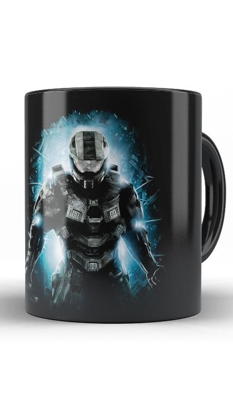Caneca Halo - Nerd e Geek - Presentes Criativos