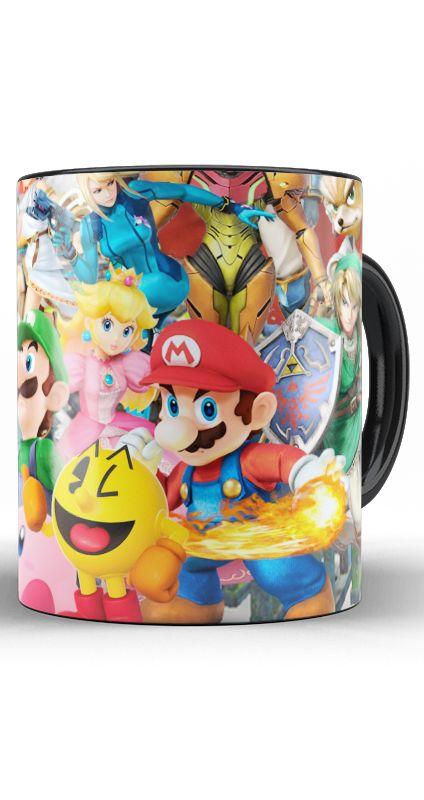 Caneca CLASSICS GAMES Nintendo