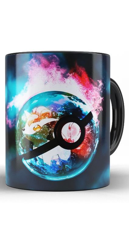 Caneca Anime Pokemon Poke Ball - Nerd e Geek - Presentes Criativos