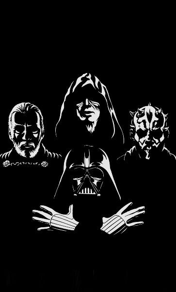 Camiseta Star Wars: Darth Vader Zombies