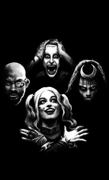 Camiseta Joker and Arlequina