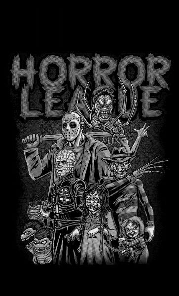 Camiseta Horro League