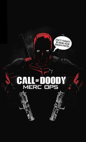 Camiseta Call of Doody MERC OPS
