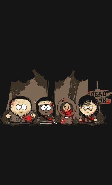 Camiseta South Park Florest