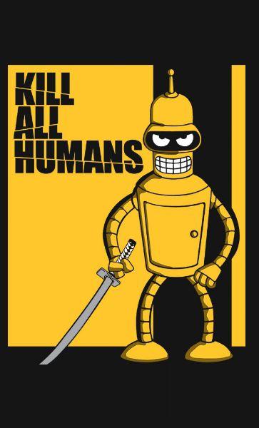 Camiseta Kill all Humans