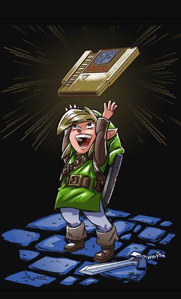 Camiseta The Legend of Zelda Nintendo