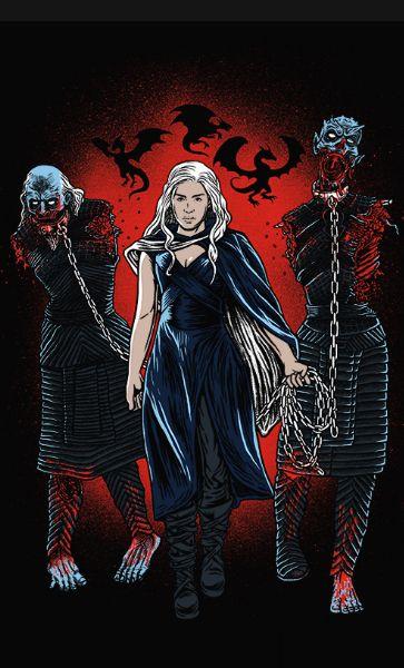 Camiseta Daenerys Targaryen CAPTURING ZOMBIES
