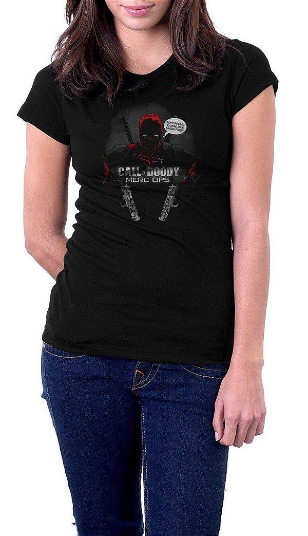 Camiseta Feminina Deadpool