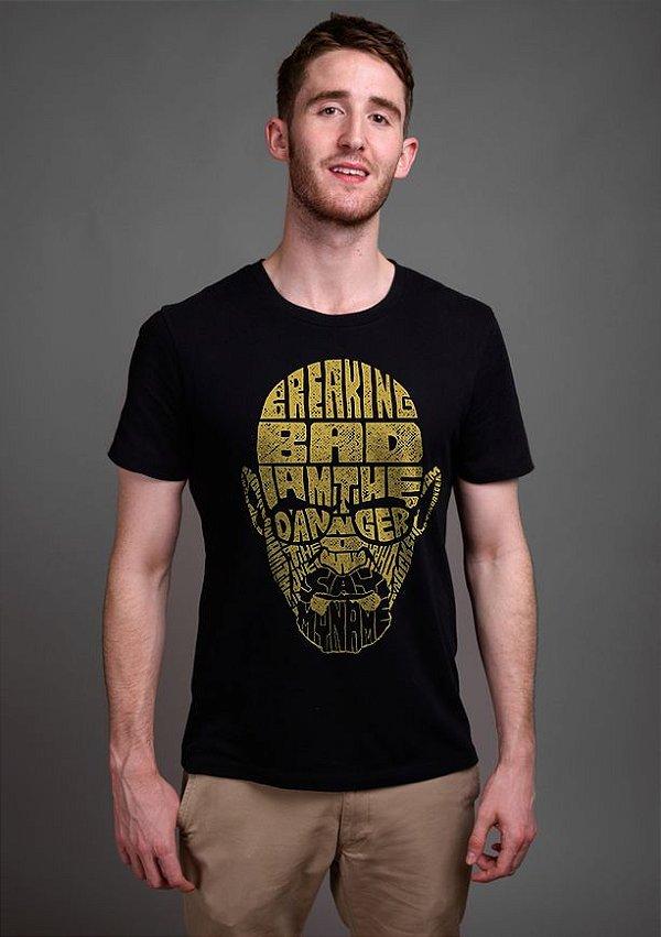 Camiseta Masculina  Breaking Bad - Nerd e Geek - Presentes Criativos