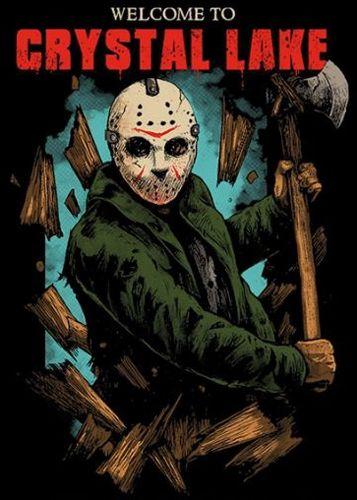 Camiseta Jason Crystal Lake