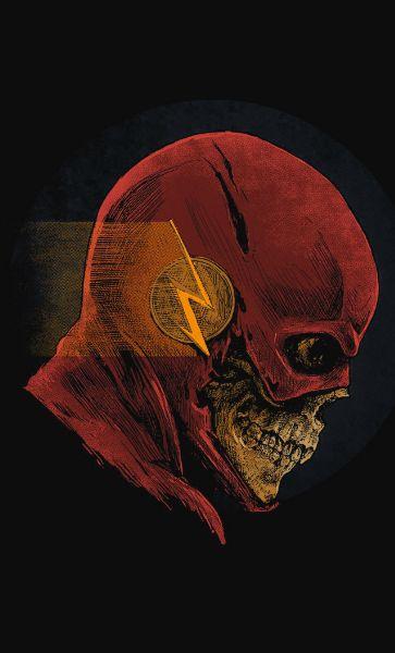 Camiseta Skull Flash