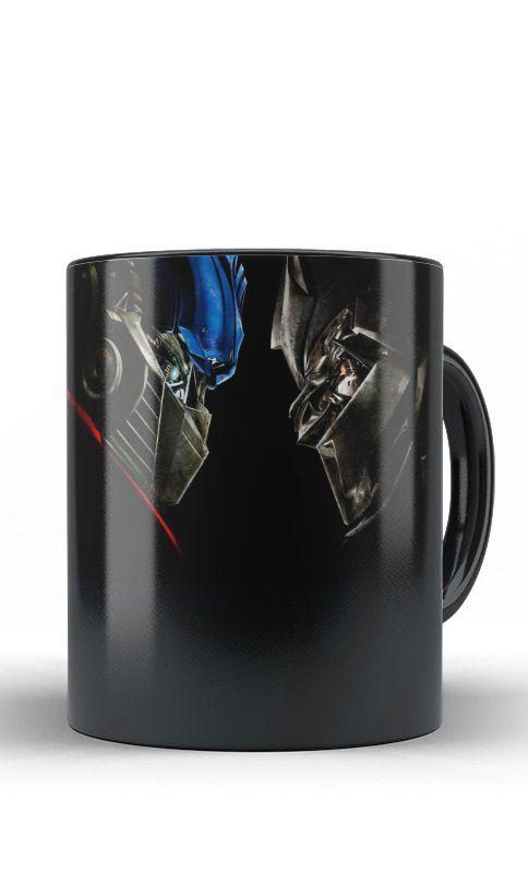 Caneca Optimus Prime X Megatron