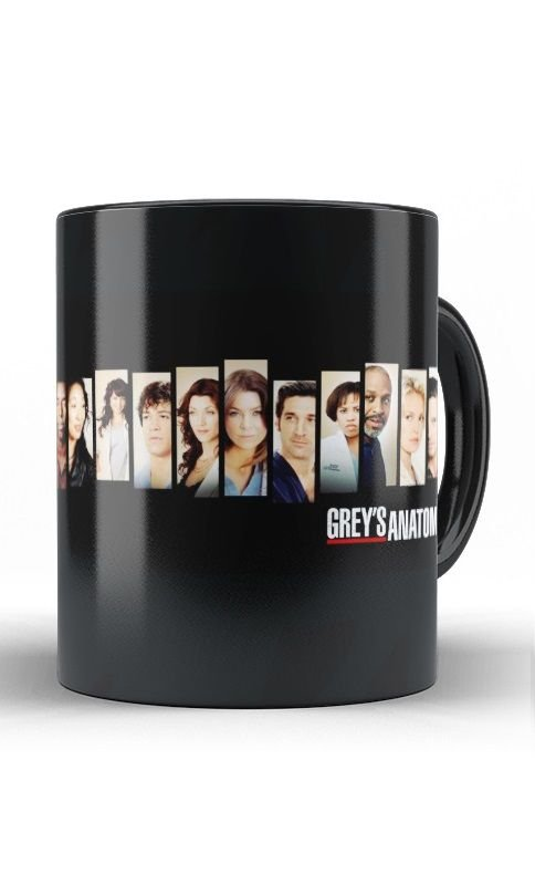 Caneca Grey's Anatomy - Nerd e Geek - Presentes Criativos