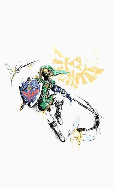 Camiseta Zelda Link