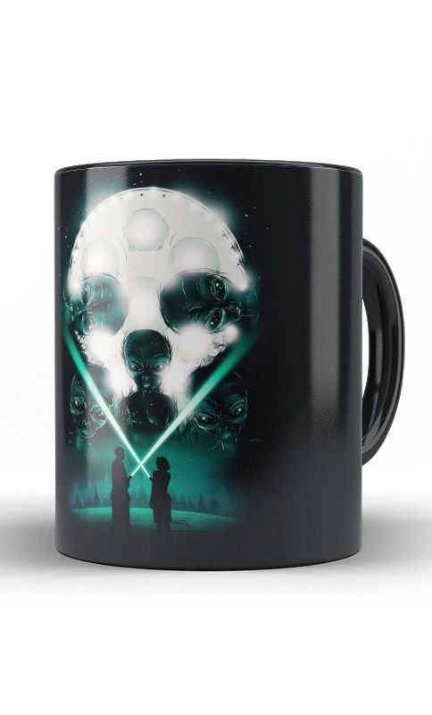 Caneca Alien - Nerd e Geek - Presentes Criativos