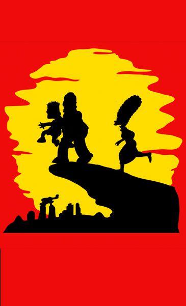 Camiseta Simpsons - Homer E Bart