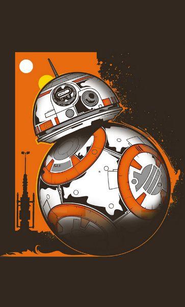 Camiseta Star Wars: BB-8 Nigth