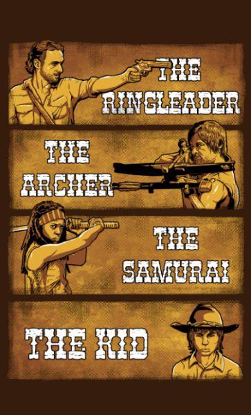 Camiseta The Ringleader the Archer the Samurai