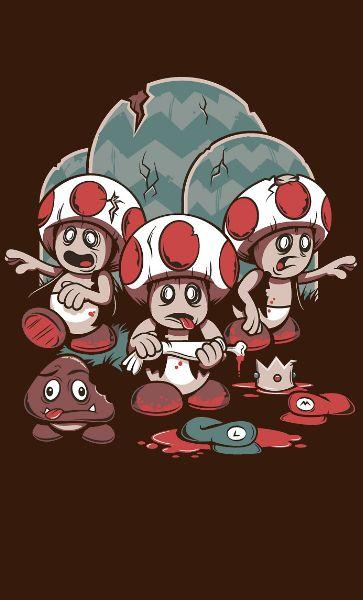 Camiseta Toad Zombie