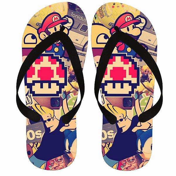Chinelo Mario Sonic NT