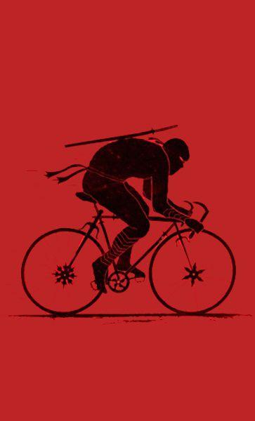 Camiseta Ninja Rider