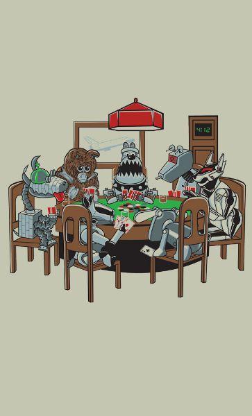 Camiseta Playing Poker