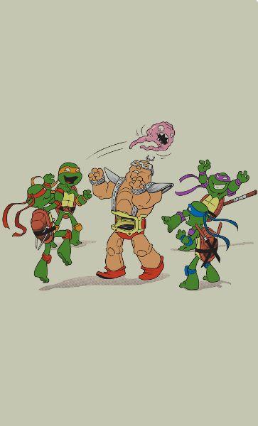 Camiseta Teenage Mutant Ninja Turtles