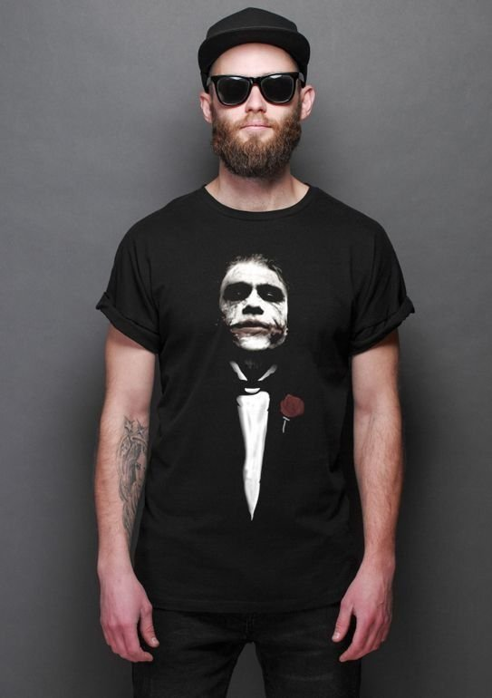 Camiseta Masculina  The Godfather - Nerd e Geek - Presentes Criativos