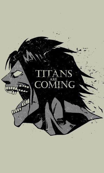 Camiseta Titans are Coming