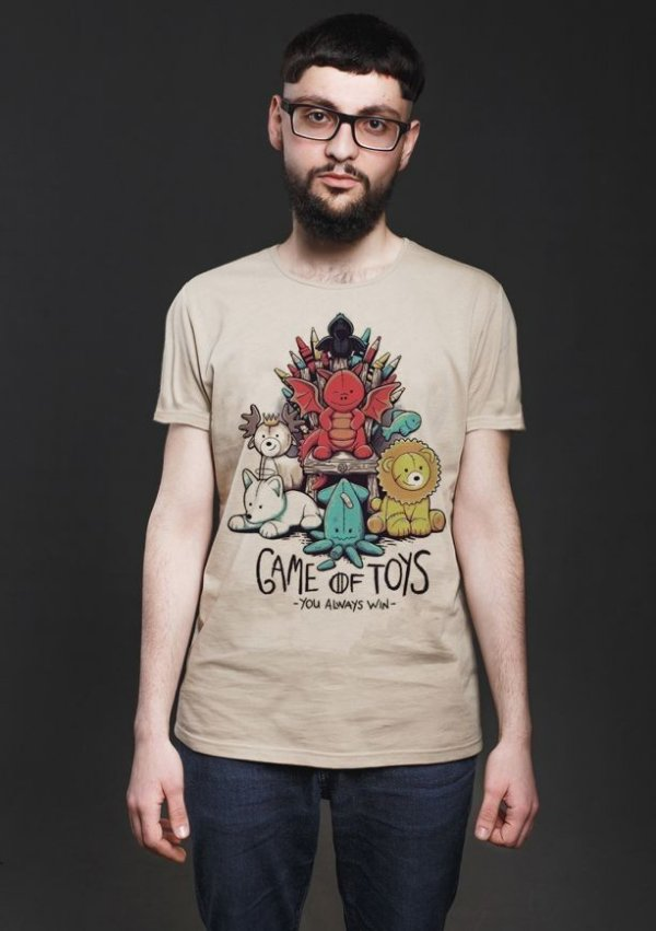 Camiseta Masculina  Game Of Toys - Nerd e Geek - Presentes Criativos