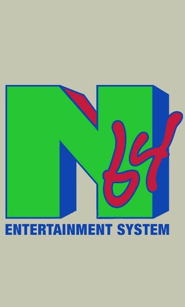 Camiseta N64 Entertainmente System