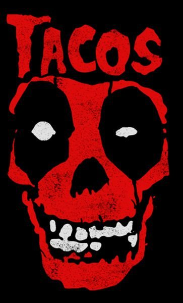Camiseta Deadpool Tacos