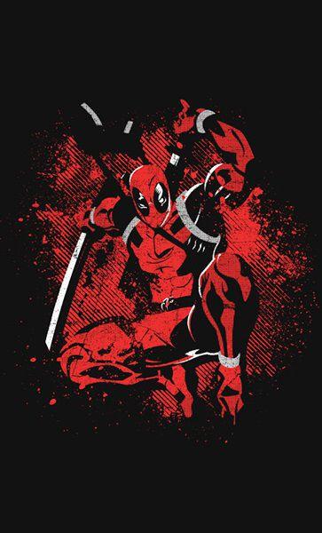 Camiseta Deadpool Ninja