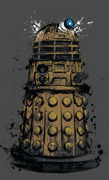 Camiseta Doctor Who Dalek