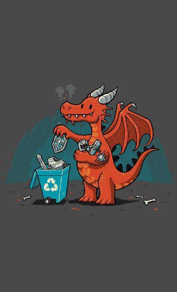 Camiseta Dragon Armor