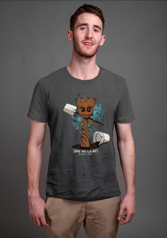 Camiseta Masculina Save the Galaxy