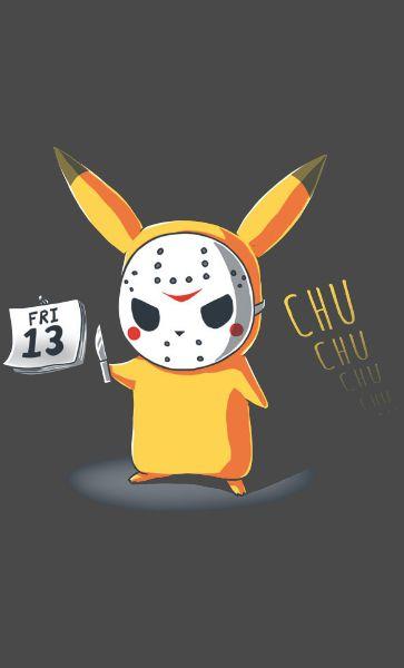 Camiseta Jason Pikachu